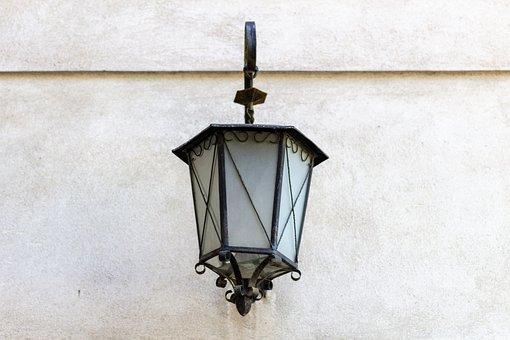 Replacement Lamp, Street Lamp, Old, Retro, Antique