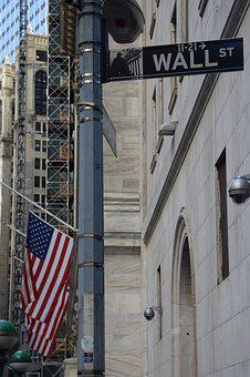 Wall Street, New York, New York City, Usa, Big Apple