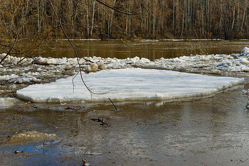 Water, Nature, River, Landscape, Snow, Forest, Tree