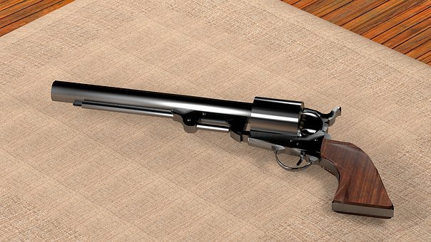 Colt, 1851, Navy, Revolver, West, Usa, Weapon, Gun