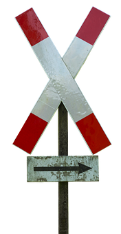 Road Sign, Warnkreuz, Andreaskreuz, Level Crossing