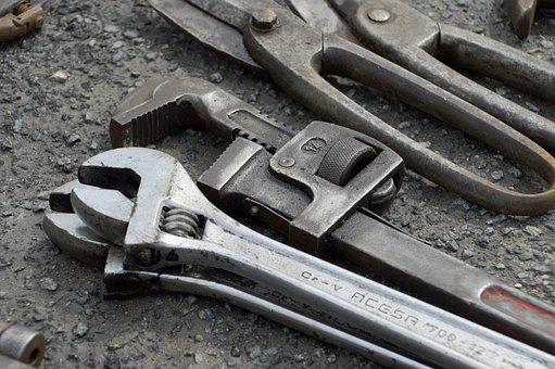 At The Age Of, Tools, Flea Market, Empty Attic, Steel