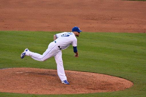 Baseball, Pitcher, Catcher, Ball, Athlete