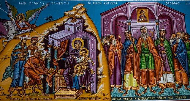 Virgin Mary, Jesus Christ, Wizards, Baby Jesus, Church
