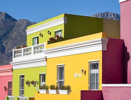 Bo-kaap Homes, Bokaap, Cape Town, Wale Street