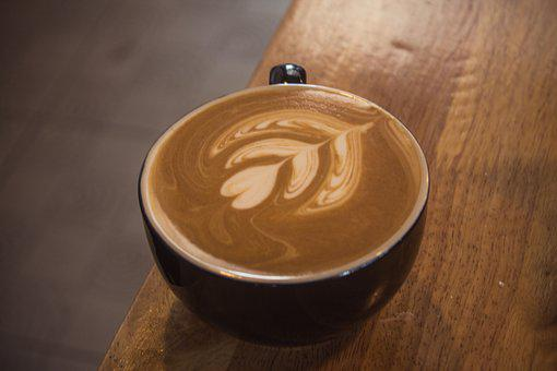 Latte Art, Coffee, Coffee Mug, Atmosphere, Glass, Drink