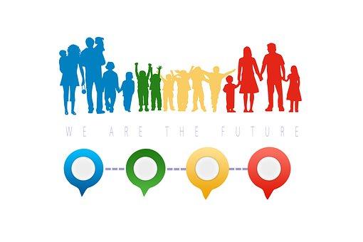 Family, Children, Forward, Community, Patchwork