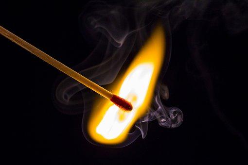 Flare-up, Heat, Brand, Flammable, Hot, Match, Fire