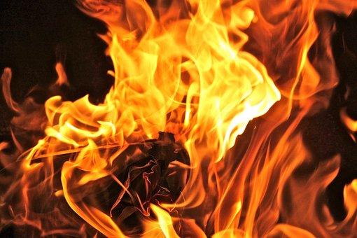 Flame, Heat, Bonfire, Campfire, Flammable, Fireplace
