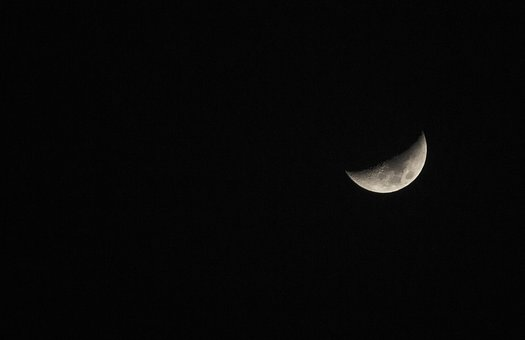 Moon, Astronomy, Eclipse, Luna, Sky, Lunar, Dark
