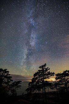 Astronomy, Sky, Nature, Moon, Sun