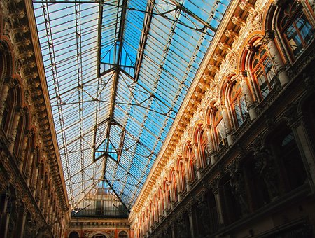 Architecture, Building, Ceiling, Travel, Odessa