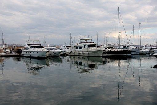 Yacht, Marina, Marine, Sailboat, Boat, Beach, Port