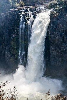 Victoria, Waterfall, Beauty, Water, Rock, Nature