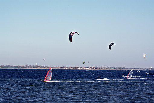Waters, Sea, Sky, Ocean, Sail, Baltic Sea, Fehmarnsund