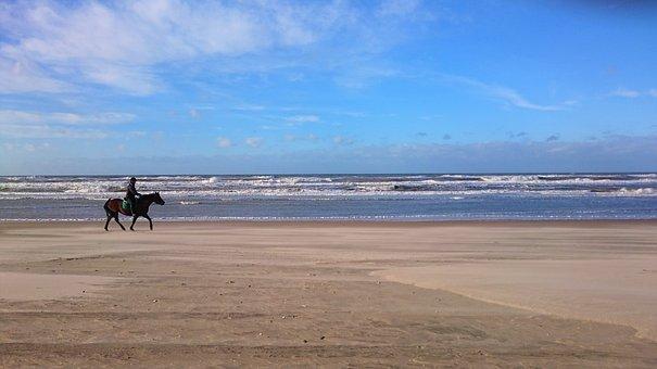 Waters, Sea, Beach, Sand, Horizontal, Coast, Sky