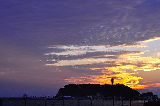 Jiang Techno Island, Enoshima, Sunset