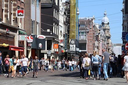 City, People, Tourist, Tourism, Road, Amsterdam