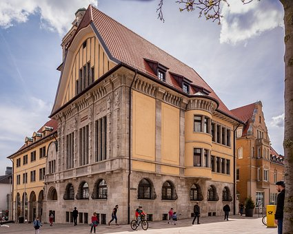 Town Hall, Albstadt, Architecture, City, Travel