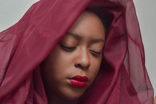 Scarf, Portrait, Woman, Veil, Adult, Headscarf, Fashion
