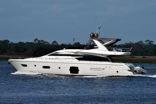 Luxury Yacht, Boat, Cruising, Yacht, Travel, Sea, Water