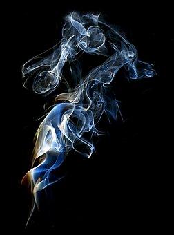 Smoke, Flame, Dynamic, Wave, Motion, Burnt, Burn, Magic