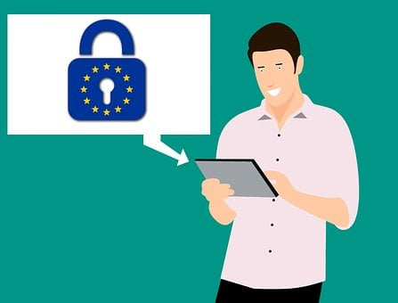 Gdpr, Security, Data, Information, Tablet, Young, Full