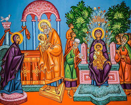 Presentation Of Christ, Ypapanti, Virgin Mary