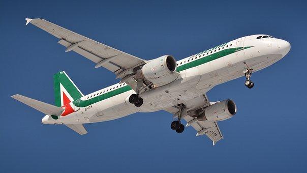 The Plane, Aircraft, Airport, Jet, A Passenger Plane