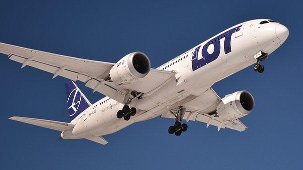 The Plane, Aircraft, A Passenger Plane, Jet, Airport