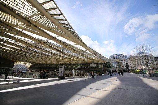 Travel, Road, Architecture, Outdoor, Modern, Paris