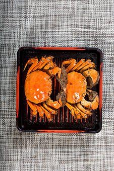 Food, Background, Seafood, Crabs