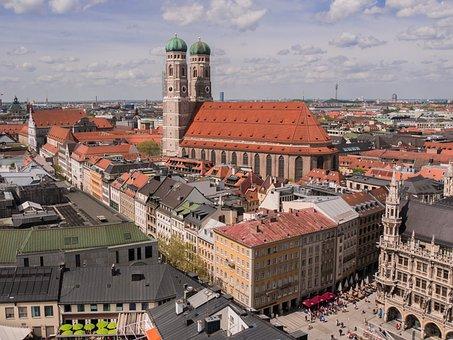 Munich City, Bavaria, Towers