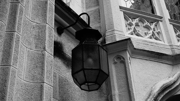 Architecture, Old, Building, House, Style, Lantern