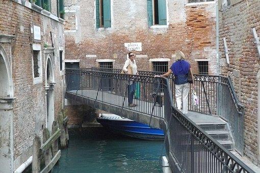 Venice, Bridge, Cityscape, Local