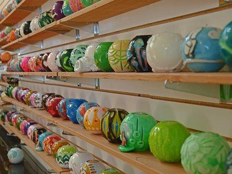 Market, Stock, Shelf, Sale, Shop, Variation, Decoration