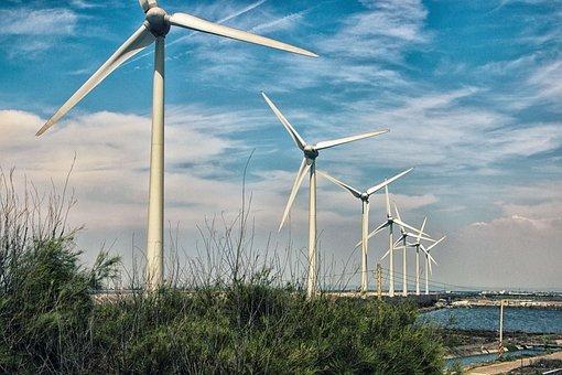 Wind, Electricity, Turbine Engine, Windmill, Energy