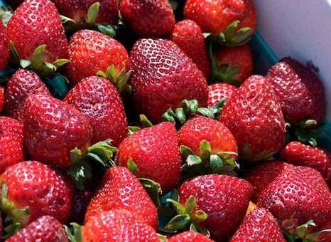 Strawberry, Fruit, Berry, Healthy, Food, Juicy, Sweet