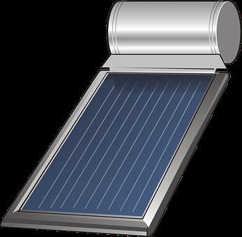 Solar, Solar Panel, Heating, Drawing, Graphics