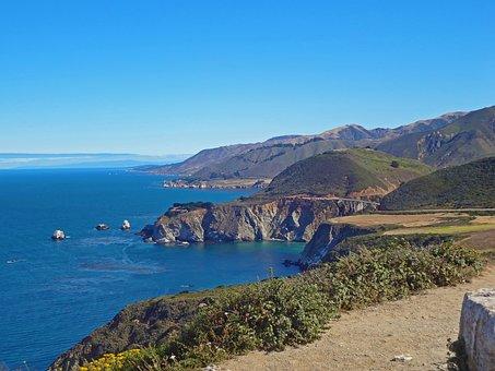Seashore, Water, Sea, Travel, Landscape, Panoramic