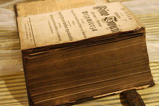 Old, Literature, Paper, Antique, Book, Home Page