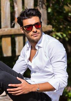 Sunglasses, Sensolatino, Man, People, Portrait