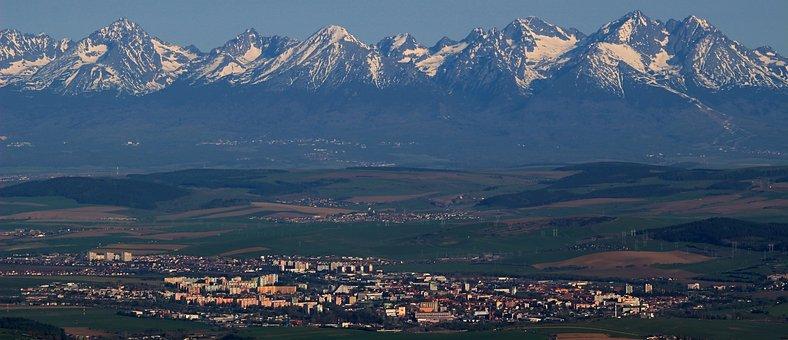 Panoramic, Panorama, Mountain, Travel, Snow, Sunrise