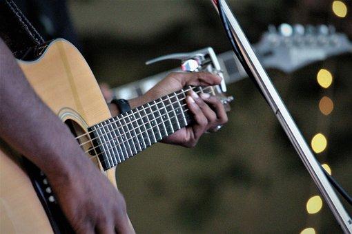 Music, Guitar, Musician, Instrument, Performance, Sound