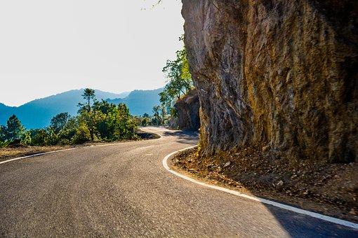 Road, Nature, Travel, Landscape, Outdoors, Empty