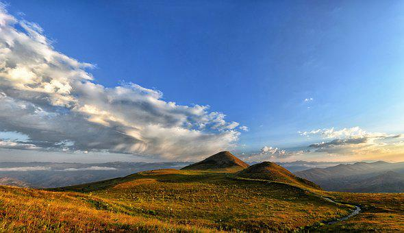 Mountain, Nature, Panoramic, Sky, Turkey, Landscape