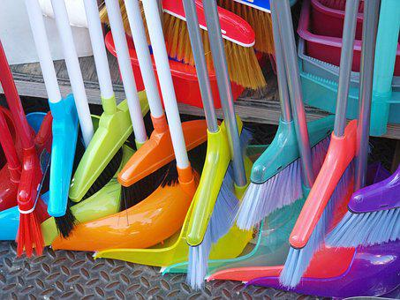 Plastic, Row, Fun, Color, Outdoors, Bright, Variation