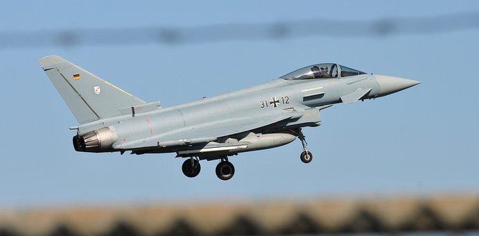 Aircraft, Jet, Flight, Airport, Runway, Military