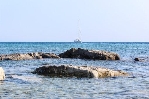 Marine, Ocean, Beach, Nature, Boat, Ship, Sand, Sky