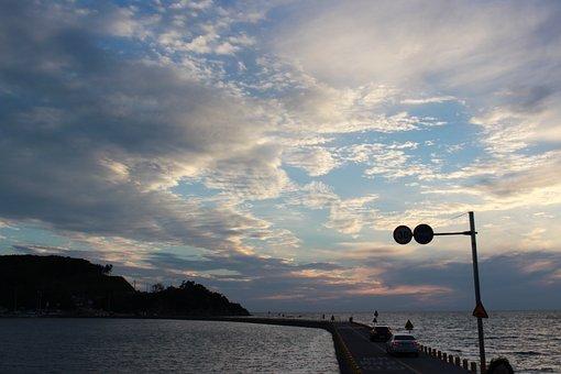 Water, Body, Sea, Heaven, Coast, Scenery, Milestone
